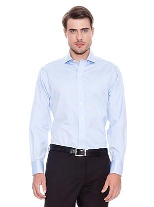 Brooks Brothers Camisa Vestir Richard (Azul)