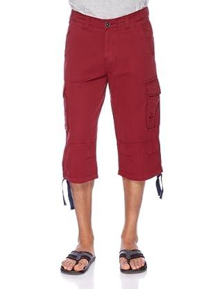 Redgreen Pantalón Cargo (Rojo)