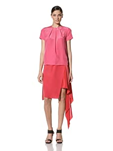 Preen Women's Polly Top (Pink/Red)