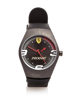 Ferrari Reloj de Carbono Pitstop Dial (Rojo)