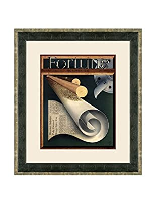 Vintage October 1937 Fortune Magazine Cover, Multi, 21