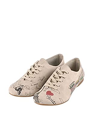 Dogo Shoes Zapatos Oxford Paris (Beige)
