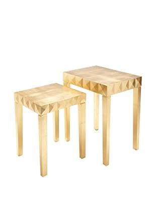 Nest Table (Gold Leaf)