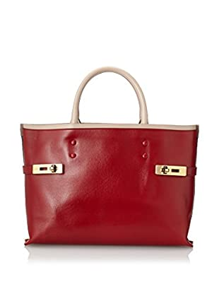 Chloé Women's Charlotte Tote, Cherry Red