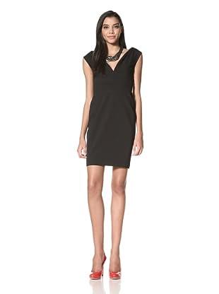 Z Spoke Zac Posen Women's V-Neck Dress (Black)