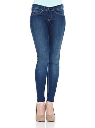 Pepe Jeans London Pantalón Vaquero Pixie (Azul Denim)