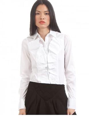 Desigual Blusa Button (Blanco)