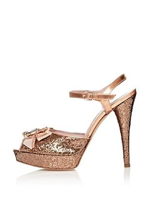 Fornarina Sandalias Skin Glitter (Oro)