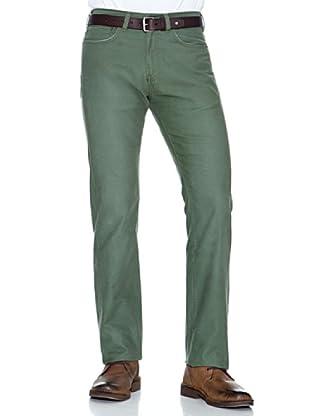Dockers Pantalón Bedford 5 Bolsillos Recto (Verde)
