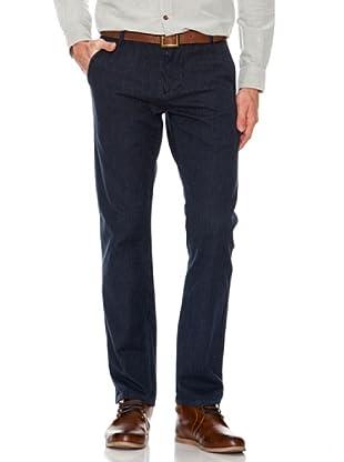 Dockers Pantalón Alpha de Cuadros (azul oscuro)