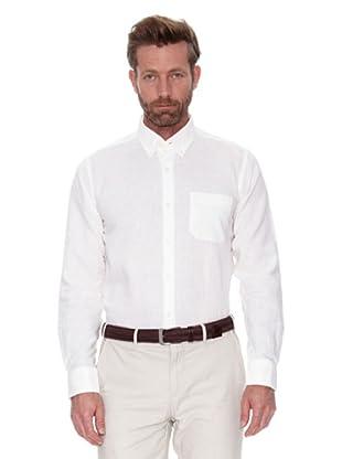 Cortefiel Camisa Lino Ppt (Blanco)