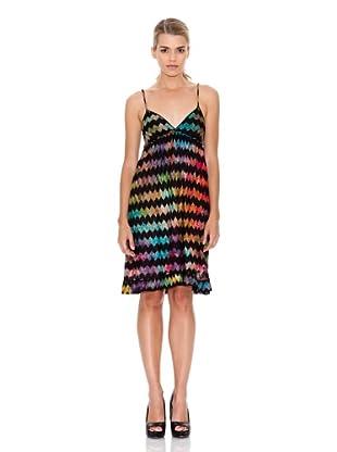 Monoplaza Vestido Zig-Zag (Multicolor)