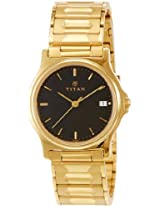 Titan Karishma Analog Black Dial Men's Watch - NE389YM19