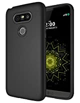 LG G5 Case - Diztronic Full Matte TPU Series - Slim-Fit Soft-Touch Thin & Flexible Phone Case for LG G5 - Full Matte Black