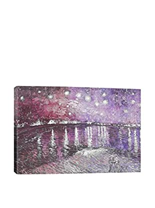 Starry Night Over The Rhone V Gallery Wrapped Canvas Print