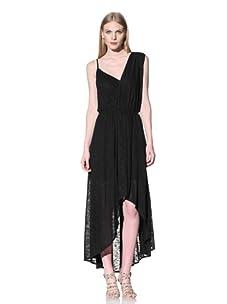 Rebecca Minkoff Women's Long Delhia Dress (Black)