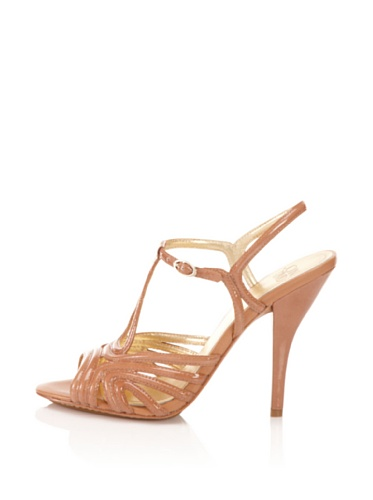 Joan & David Collection Women's Mimo Ankle-Strap Sandal (Light Natural)