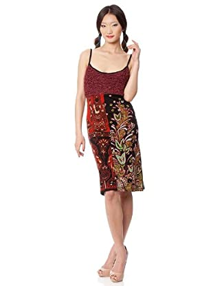 Custo Vestido Gaku (Rojo / Negro)