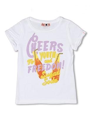 CKS Kids GIRLS Camiseta Lapis (Blanco)