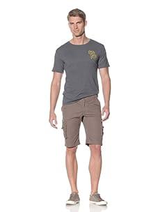 Fresh Men's Cargo Short (Olive)