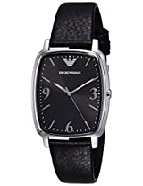 Emporio Armani Analog Black Dial Men's Watch - AR2490