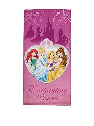 Cavalieri Strandtuch Princess Enchan mehrfarbig 75 x 150 cm
