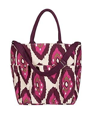 Rock Flower Paper Shantih Weekender Bag, Berry