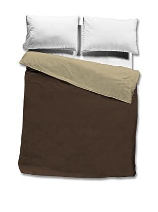 Nido Saco Nórdico 100% Algodón (Lino / Chocolate)