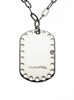 Nomination Collar Domino e Twist Blanco