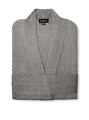 a & R Cashmere Wool & Cashmere Robe, Grey, One Size