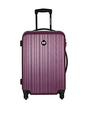 Bag Stone Set de 3 trolleys rígidos Polo Morado