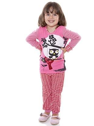 Custo Pijama Reymid (rosa / lila)