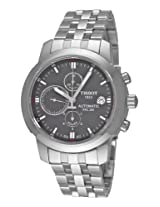 Tissot Men's T0144271108100 PRC200 Automatic Grey Chronograph Dial Watch