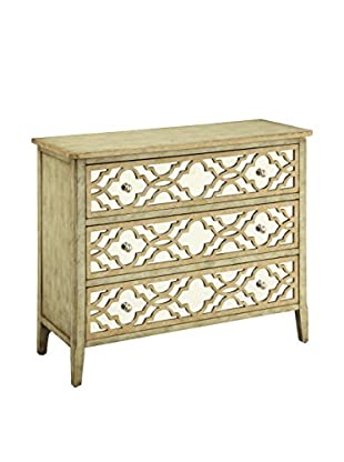 Coast to Coast 3-Drawer Chest, Brown