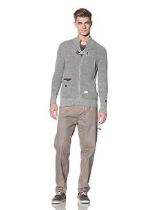 Marshall Artist Men's Zip-Through Cardigan (Grey)