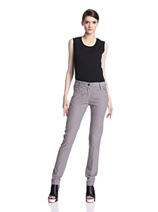 Ann Demeulemeester Women's Flake Trouser (Pearl)
