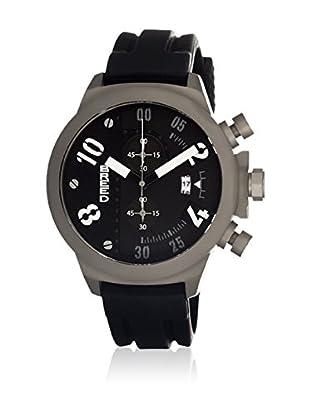 Breed Reloj con movimiento cuarzo japonés Brd0301 Negro 45  mm