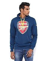 Puma AFC Fan Hoodie, Men's X-Small (Estate Blue)