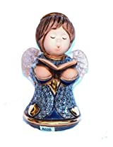 Rinconada Angel withbook Figurine, Blue