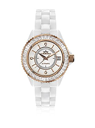 Hindenberg Reloj automático Woman 170-H Galaxy X -13 Blanco / Oro Rosa 38 mm