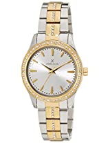 Daniel Klein Analog Silver Dial Women's Watch - DK10804-7