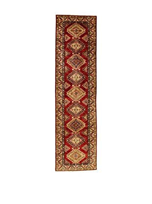L'Eden del Tappeto Teppich Kazak Super rot/honig 298t x t79 cm