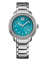 Tommy Hilfiger Women's Metallic Silver Stainless-Steel Analog Quartz Watch-TH1781502J