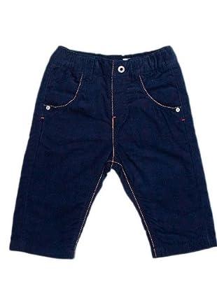 Timberland Kids Pantalón Pana Costuras (azul marino)
