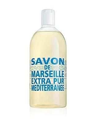 Compagnie de Provence Flüssigseife Recharge Extra Pur Méditerranée 1000 ml, Preis/100 ml: 1.29 EUR