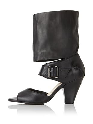 C'N'C CoSTUME NATIONAL Women's Half-Shaft Sandal (Black)