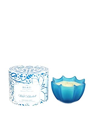D.L. & Co. Wild Bluebell 10-Oz. Scallop Candle