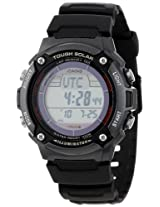 Casio Men's WS200H-1BVCF Tough Solar Powered Multi-Function Digital Sport Watch