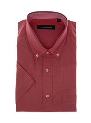Pierre Clarence Camisa de manga corta (Granate)