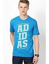 Light Blue Training Round Neck T-Shirt